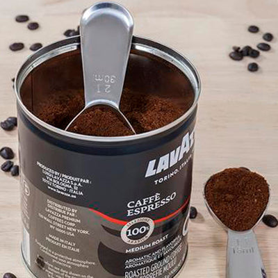 MAIRICO Premium Stainless Steel Measuring Coffee Scoops