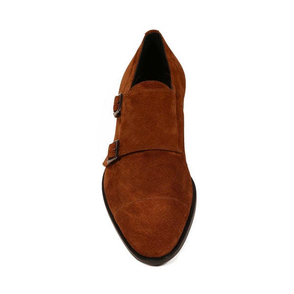 double monk suede men shoes