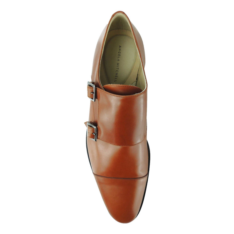 luxury double monk designer shoes