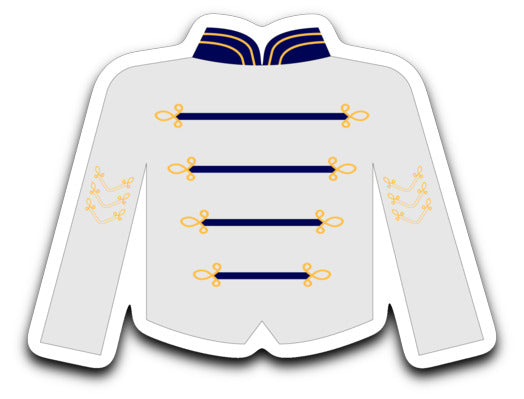 Quartz Hill High School Rebel Band Uniform Sticker
