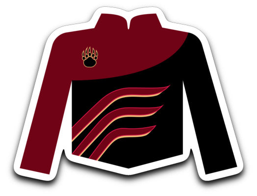 Mission Hills Cardinal Alliance Uniform Sticker - Marching Band Gear