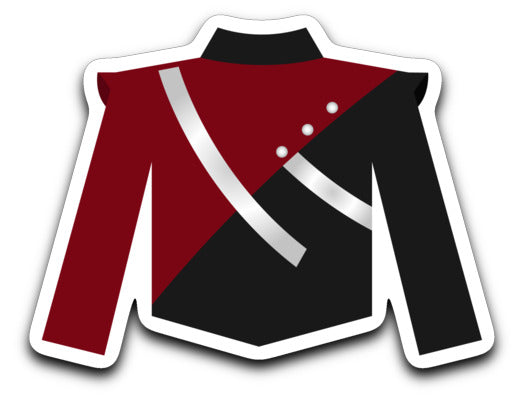 Paloma Valley High School Marching Band Uniform Sticker - Marching Band Gear