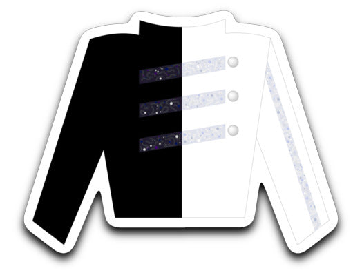 Gold Uniform Sticker - Marching Band Gear