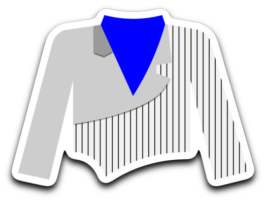 Hebron High School Marching Band Uniform Sticker - Marching Band Gear