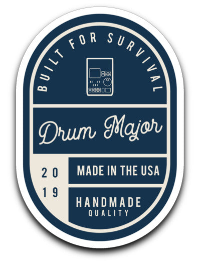 Drum Major Sticker - Marching Band Gear