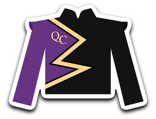 Queen Creek High School Marching Band Sticker - Marching Band Gear