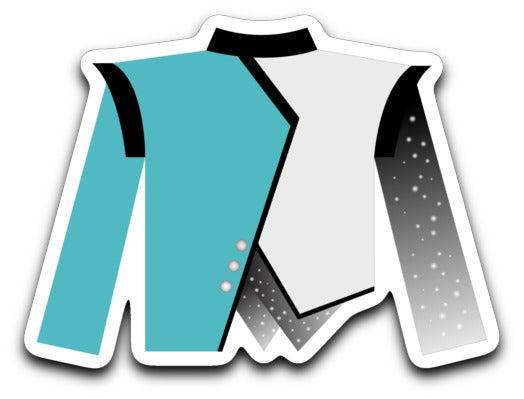 West Johnston High School Marching Band Uniform Sticker