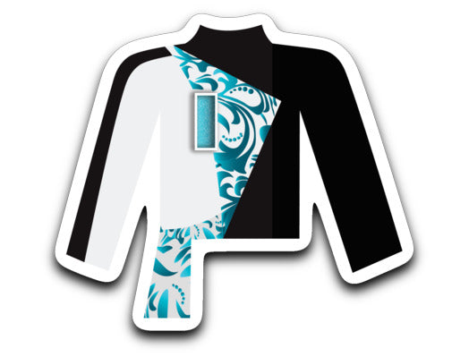 Pacific Crest 25th Anniversary Uniform Sticker - Marching Band Gear