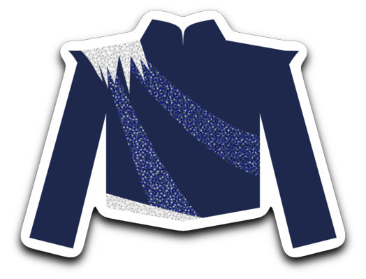 Fort Zumwalt North Marching Band Uniform Sticker - Marching Band Gear