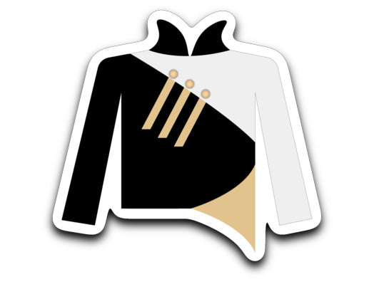 Towson University Marching Band Uniform Sticker - Marching Band Gear