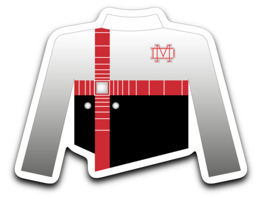 Mater Dei High School Marching Band Uniform Sticker - Marching Band Gear