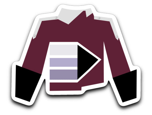 Dobyns-Bennett High School Marching Band Uniform Sticker - Marching Band Gear