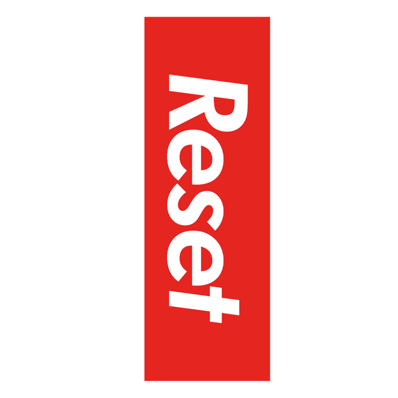 Reset Sticker - Marching Band Gear