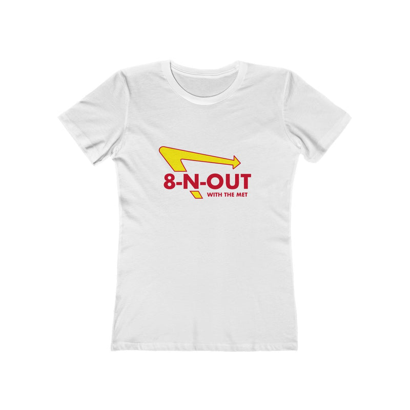 Women's 8 N Out With The Met T-Shirt - Marching Band Gear