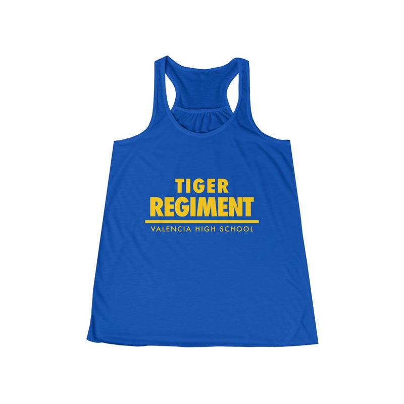 Tiger Regiment Text Women's Tank Top - Marching Band Gear