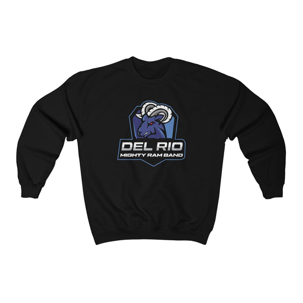 Del Rio Mighty Ram Band Crewneck Sweatshirt - Marching Band Gear