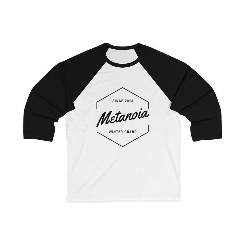 Metanoia Since 2018 3/4 Sleeve T-Shirt - Marching Band Gear