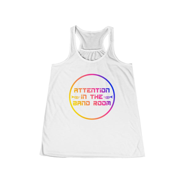 Women's Flowy Racerback Tank - Marching Band Gear