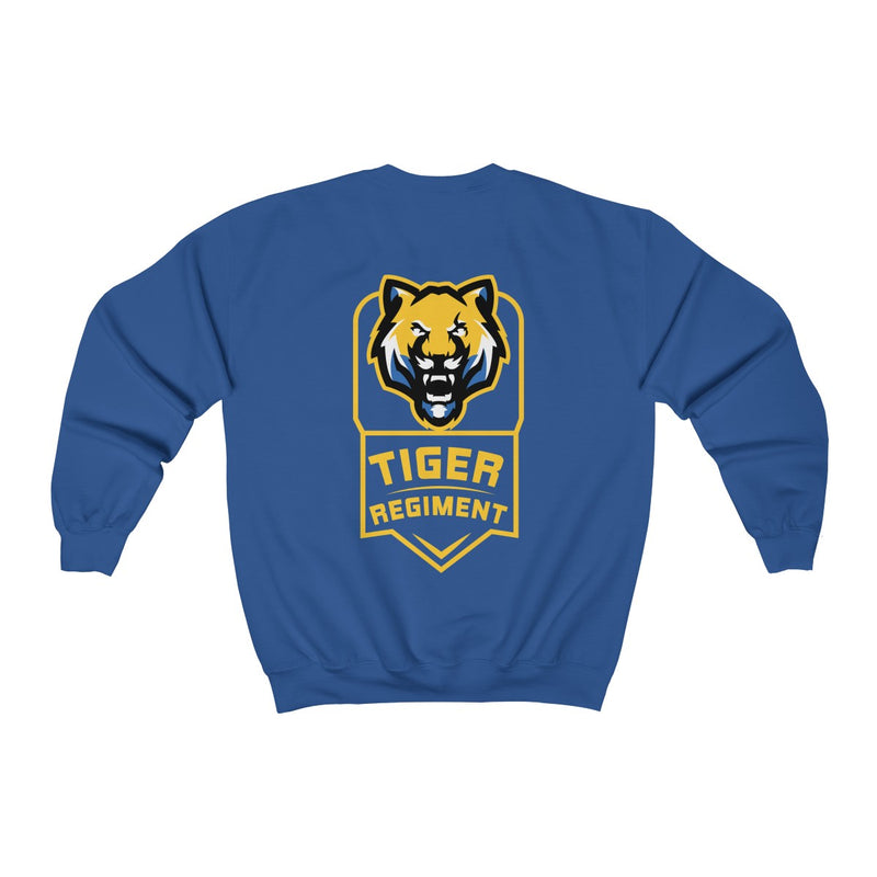 Tiger Regiment Logo Crewneck Sweatshirt