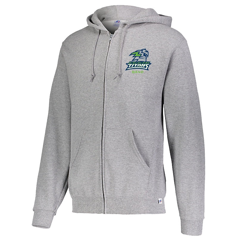 Discovery High School Band Fleece Full-Zip Hoodie - Marching Band Gear