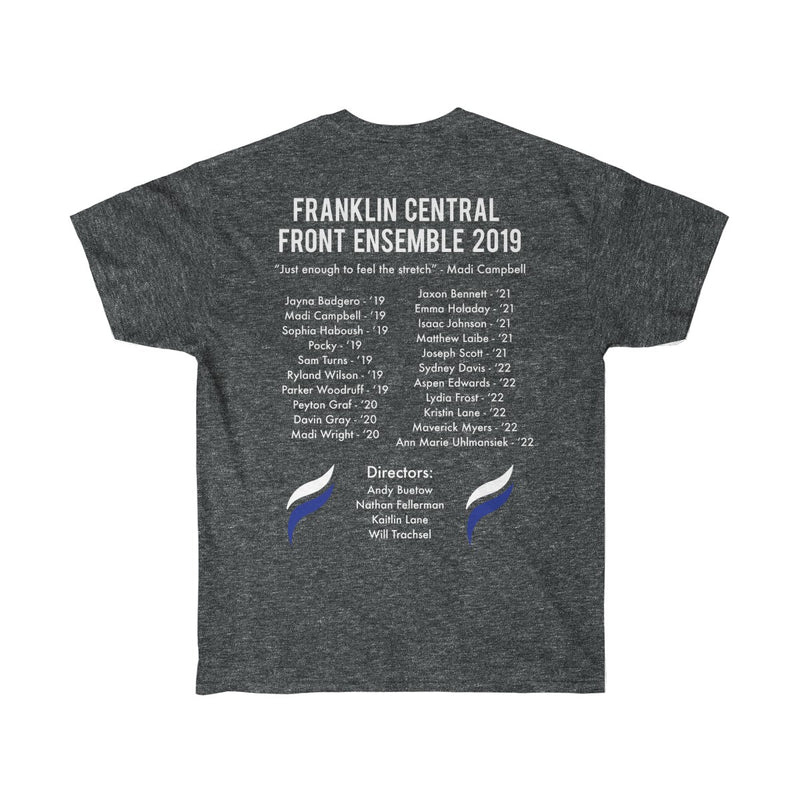 Franklin Central Front Ensemble T-Shirt - Marching Band Gear
