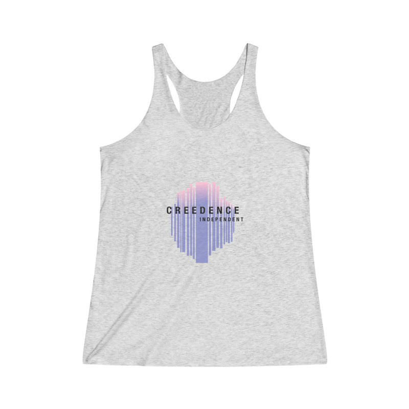 Women's Creedence Independent Tri-Blend Racerback Tank - Marching Band Gear