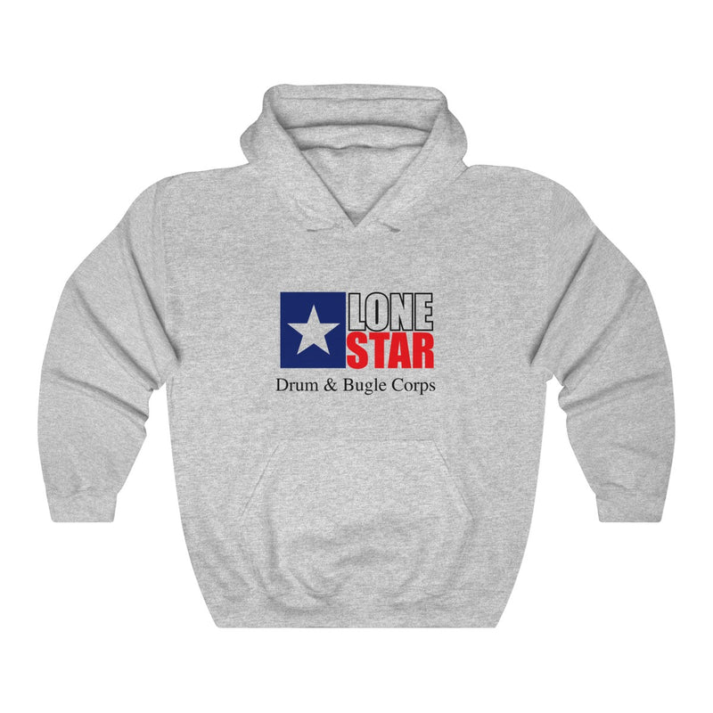 Lone Star Drum and Bugle Corps Vintage Logo Hoodie - Marching Band Gear