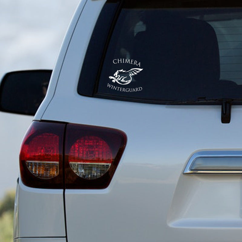 Chimera Winterguard Car Decal - Marching Band Gear