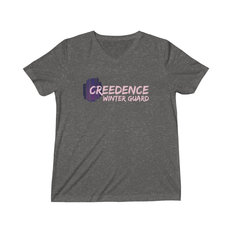 Creedence Winter Guard Triblend V-Neck T-Shirt - Marching Band Gear