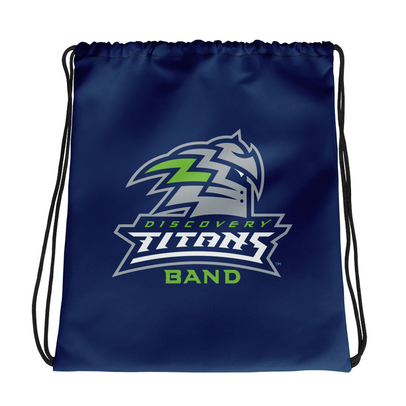 Discovery High School Band Cotton Drawstring Bag - Marching Band Gear