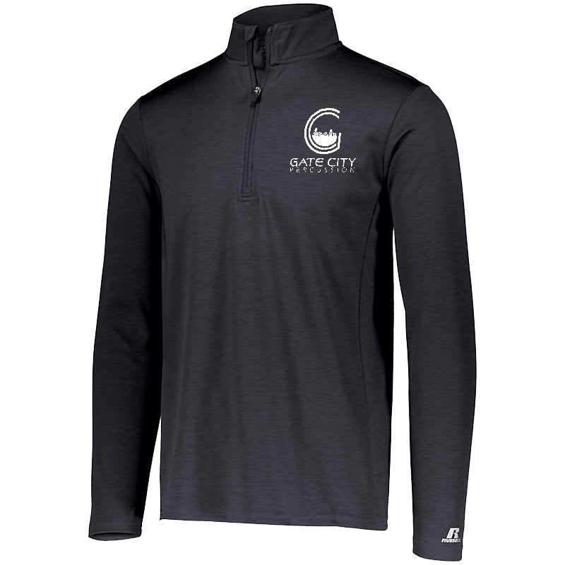 Gate City Percussion 1/4 Zip Pullover - Marching Band Gear