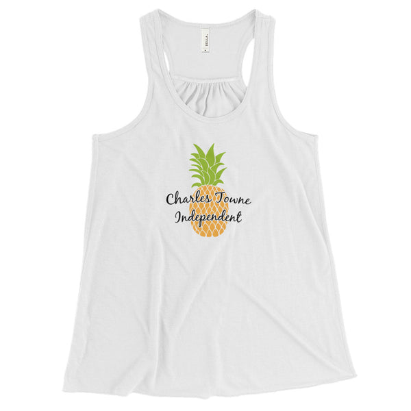 Women's Charles Towne Independent Flowy Racerback Tank Top - Marching Band Gear