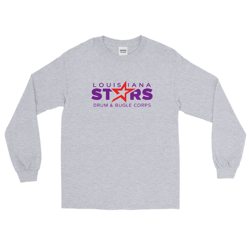 Louisiana Stars Logo Long Sleeve T-Shirt - Marching Band Gear