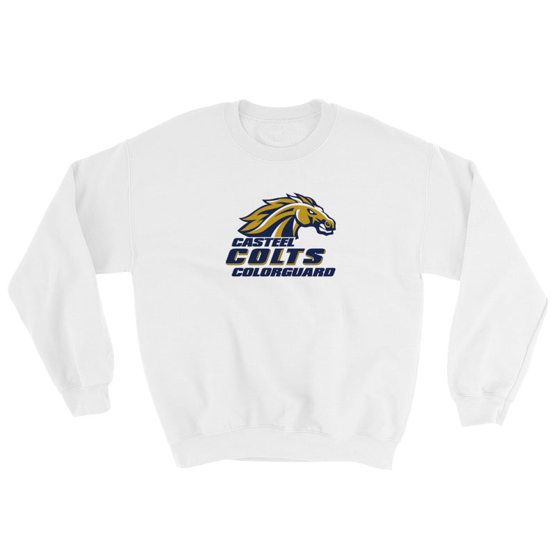Casteel High School Colorguard Crewneck Sweatshirt - Marching Band Gear