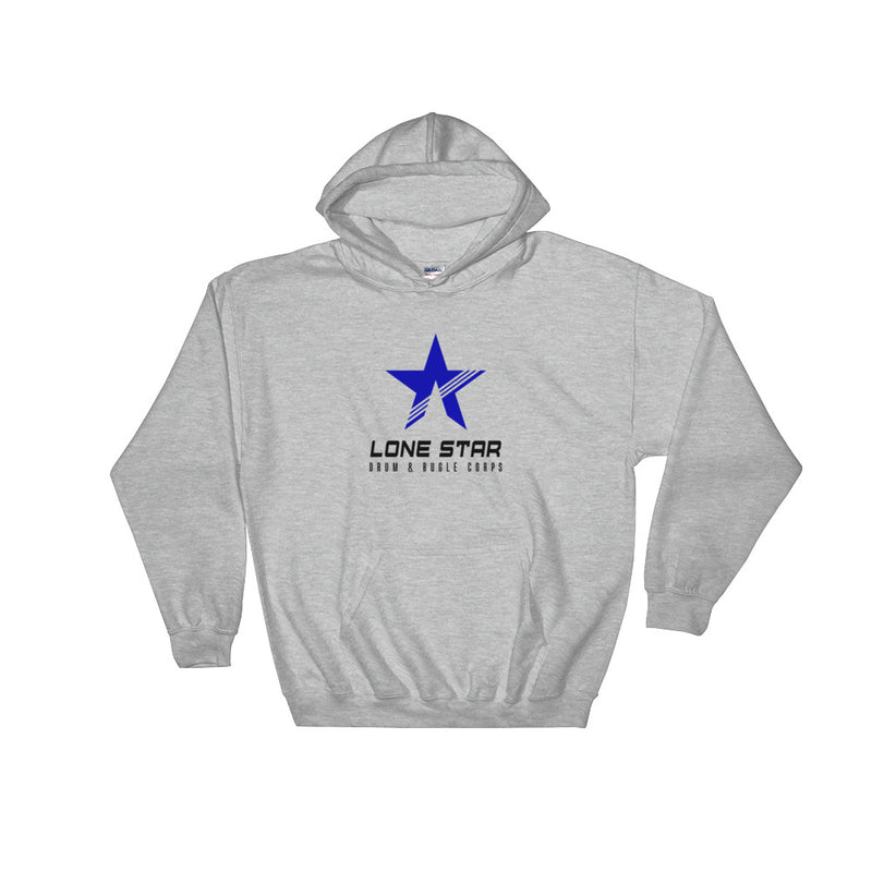 Lone Star Drum and Bugle Corps Logo Hoodie - Marching Band Gear