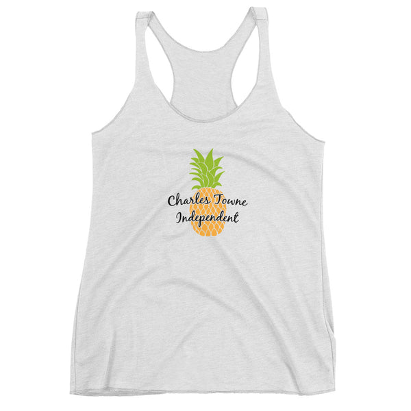 Women's Charles Towne Independent Racerback Tank Top - Marching Band Gear