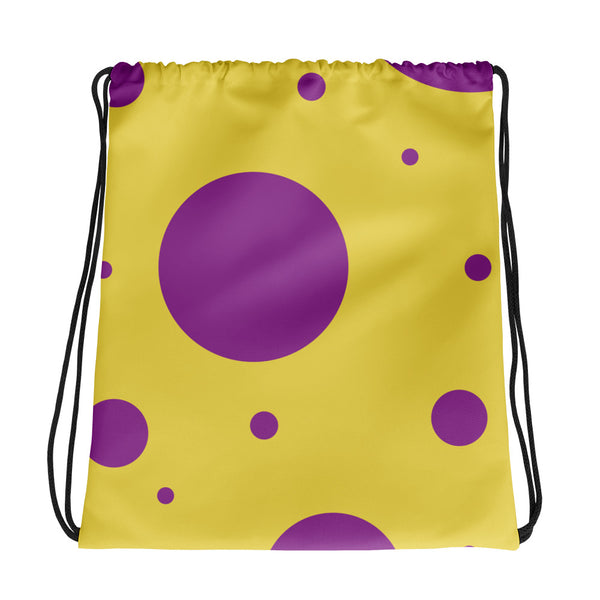 Plymouth Canton 2018 Polka Dot Uniform Drawstring Bag - Marching Band Gear