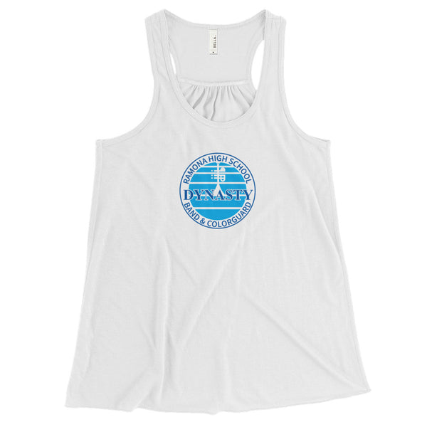 Ramona Dynasty Band Women's Flowy Racerback Tank - Marching Band Gear