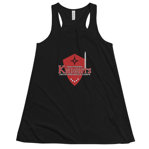 Women's Southern Knights Flowy Racerback Tank - Marching Band Gear