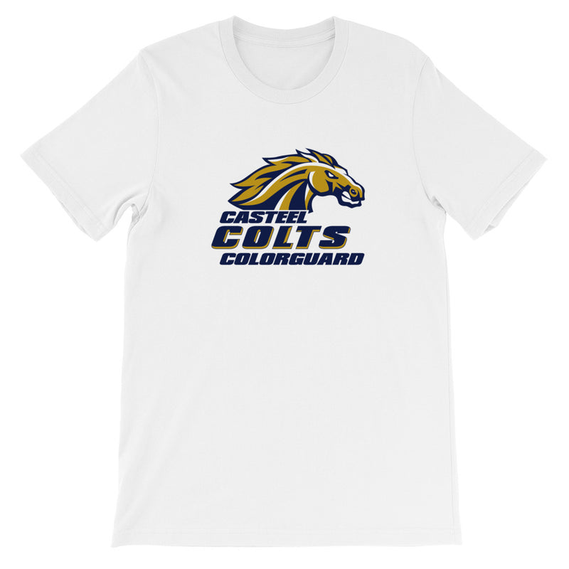 Casteel High School Colorguard T-Shirt - Marching Band Gear