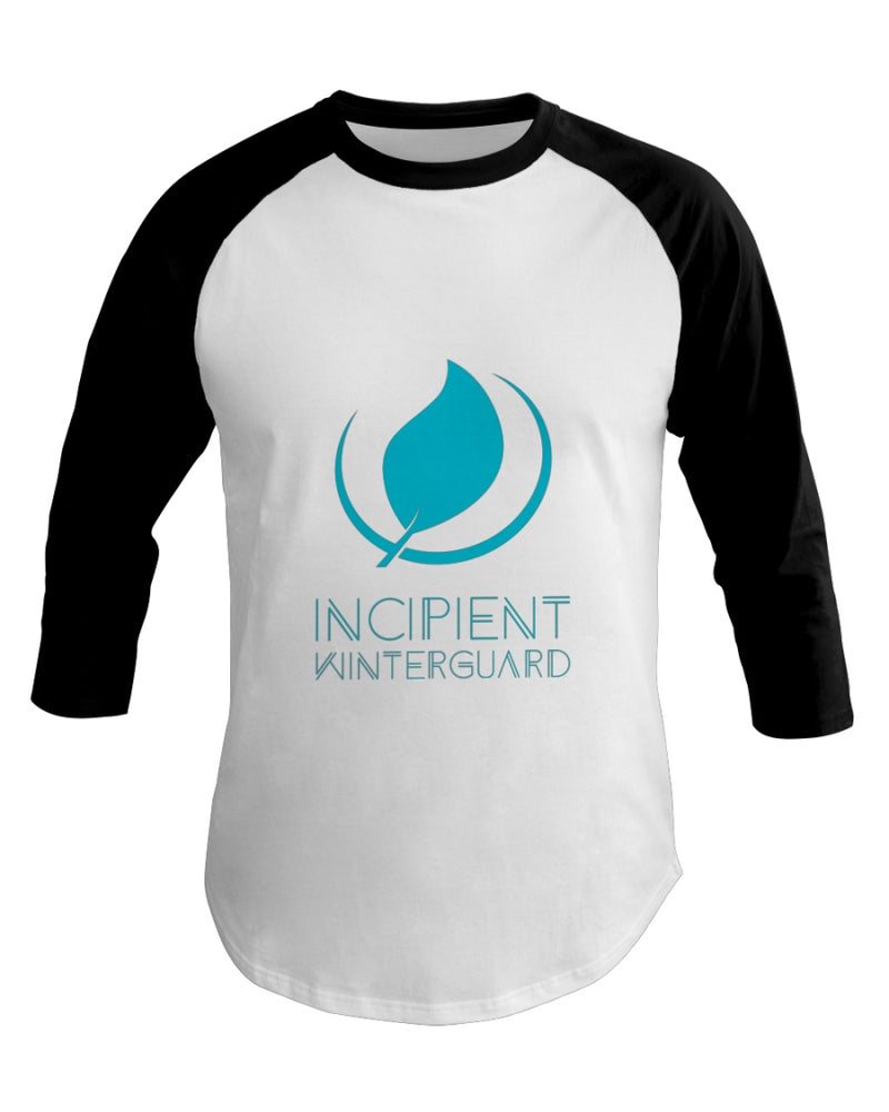 Incipient Independent 3/4 Sleeve Raglan Shirt - Marching Band Gear