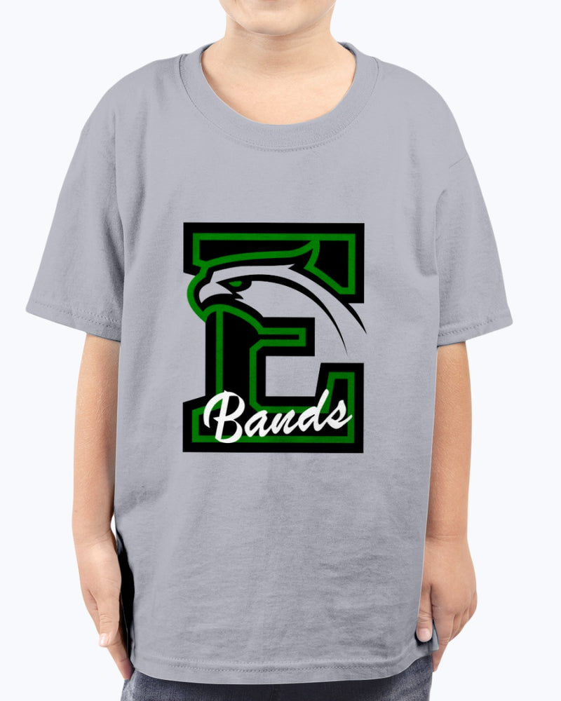 Edison High School Bands Logo Apparel (Front Only Print) - Marching Band Gear
