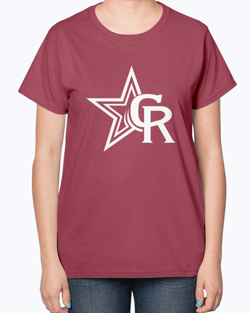 Crimson Rangers Ultra Ladies T-Shirt - Marching Band Gear