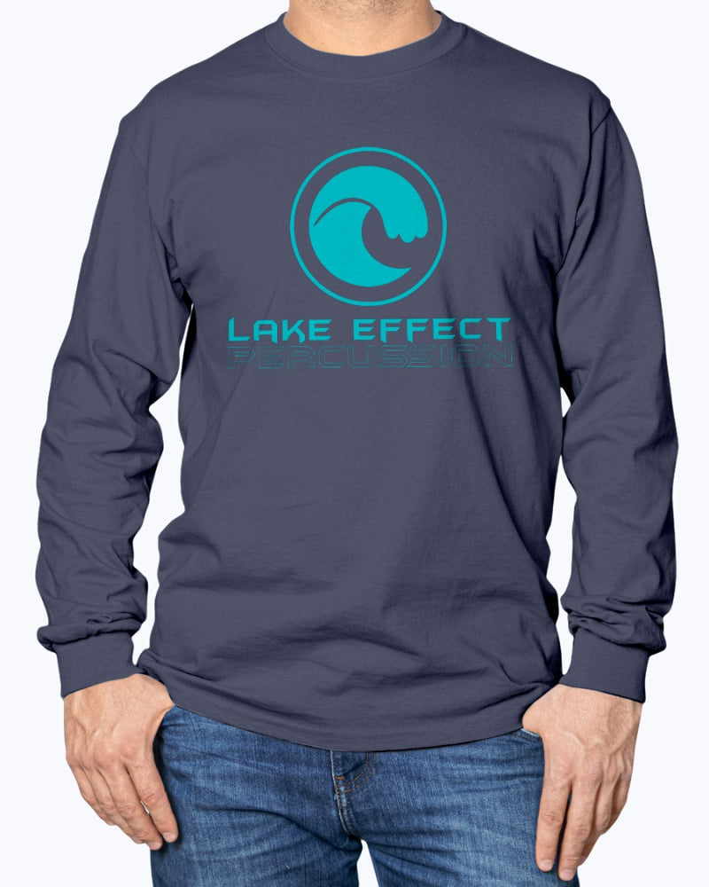 Lake Effect Percussion Long Sleeve T-Shirt - Marching Band Gear
