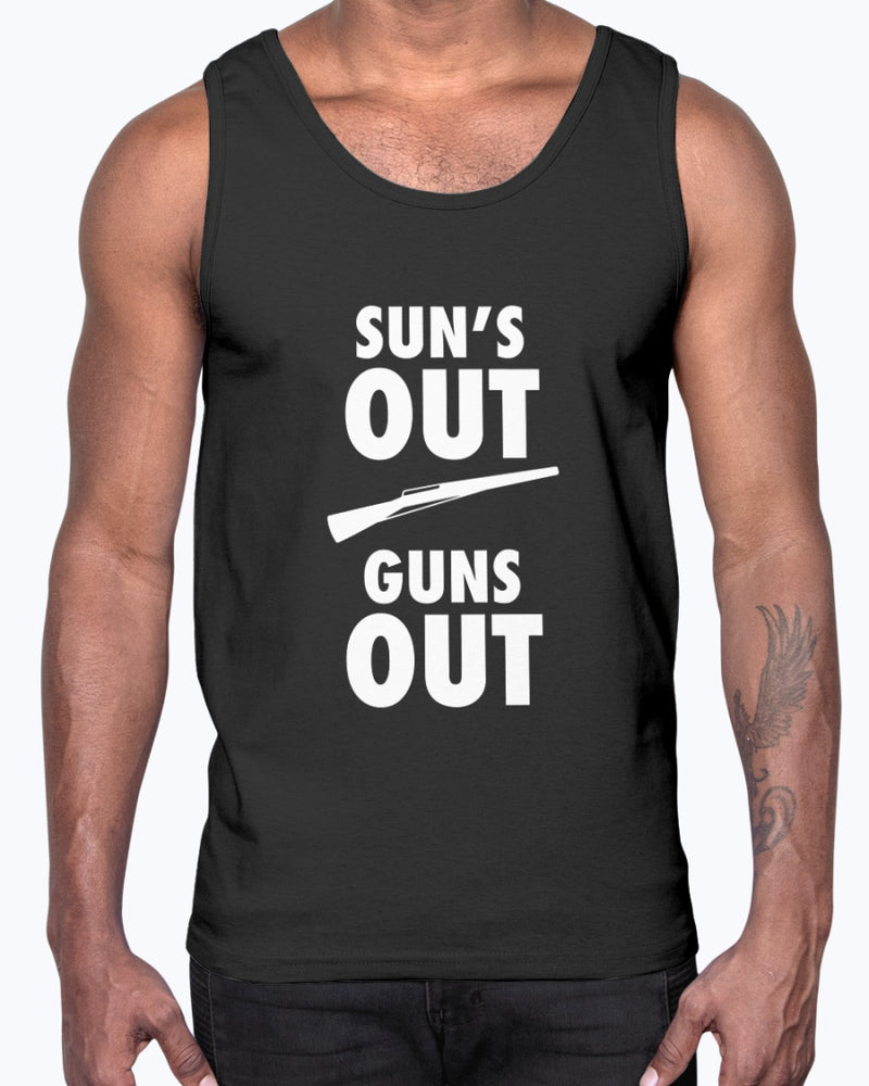 Sun's Out Guns Out - Marching Band Gear