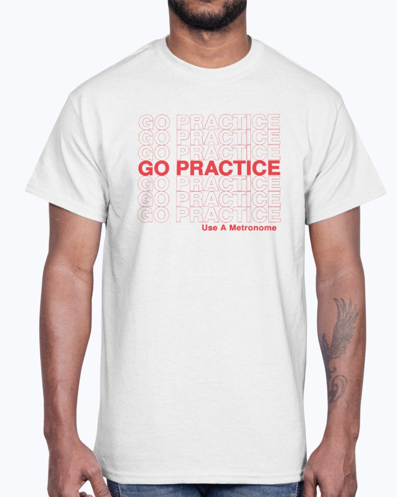 Go Practice T-Shirt - Marching Band Gear