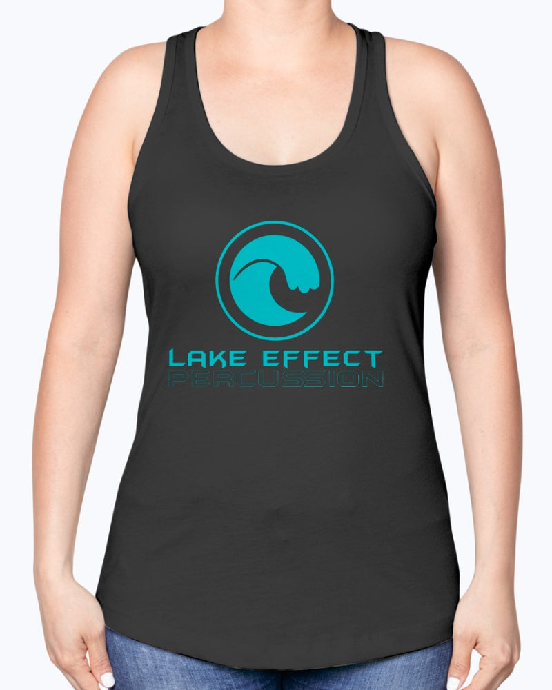 Lake Effect Percussion Ladies Racerback Tank - Marching Band Gear