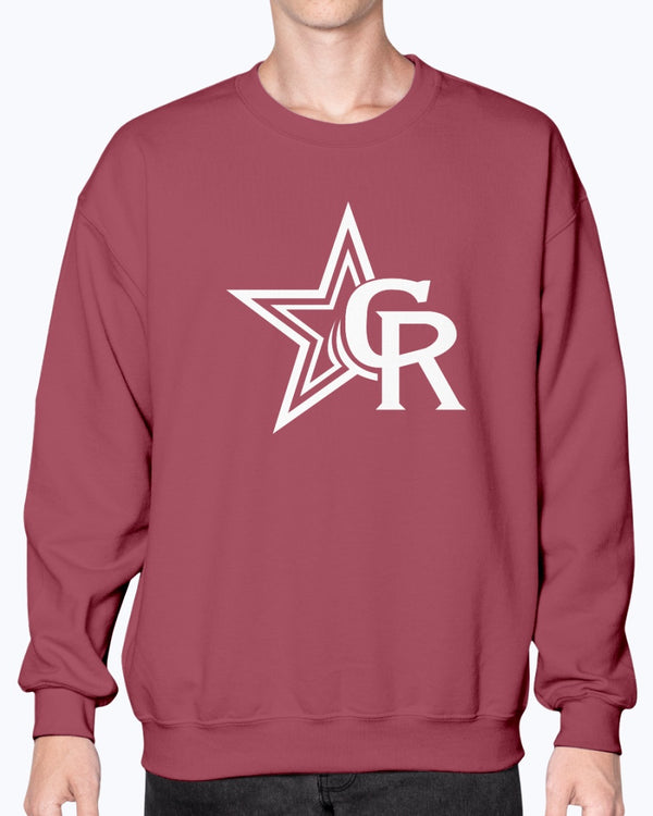 Crimson Rangers Crewneck Sweatshirt - Marching Band Gear