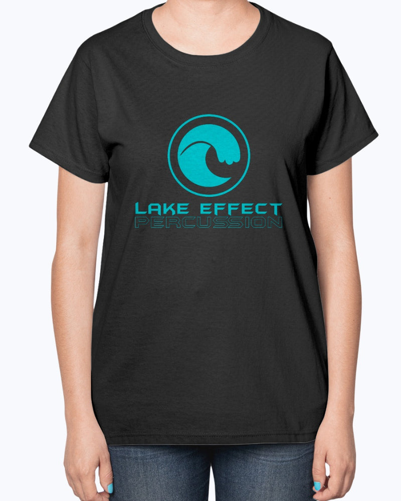 Lake Effect Percussion Ultra Ladies T-Shirt - Marching Band Gear