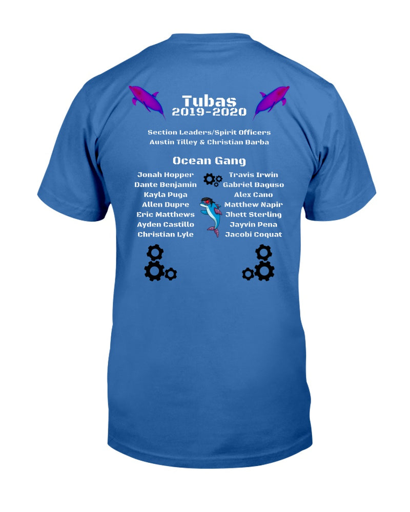 ocpantherband Tuba Shirt - Marching Band Gear